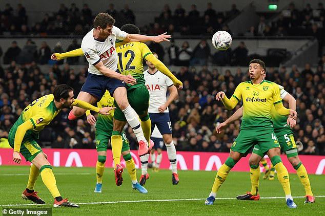 Tottenham 1-1 (pen: 2-3) Norwich City: Tottenham dừng bước tại FA Cup sau loạt luân lưu - Ảnh 2.