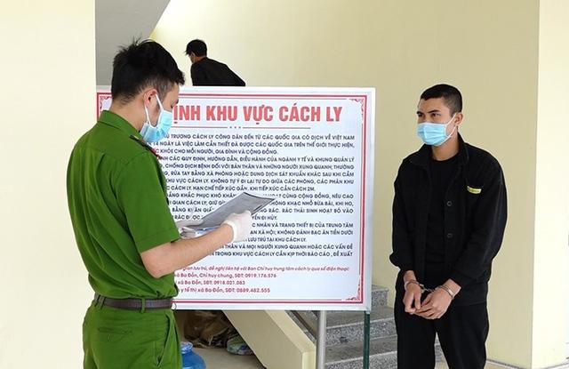 Quảng Bình: Bắt giữ đối tượng trốn truy nã đang ở trung tâm cách ly - Ảnh 1.