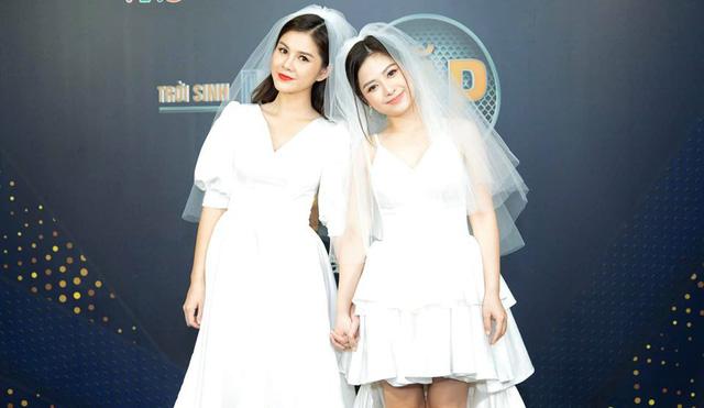 Loạt đồ đôi tuyệt đẹp của Thu Hoài - Dương Hoàng Yến trong Trời sinh một cặp - Ảnh 2.