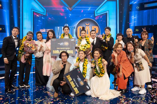 Diễn viên Thu Hoài trở thành Quán quân Trời sinh một cặp mùa 4 - Ảnh 8.