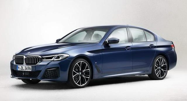 Hé lộ hình ảnh BMW 5-Series phiên bản nâng cấp - Ảnh 1.