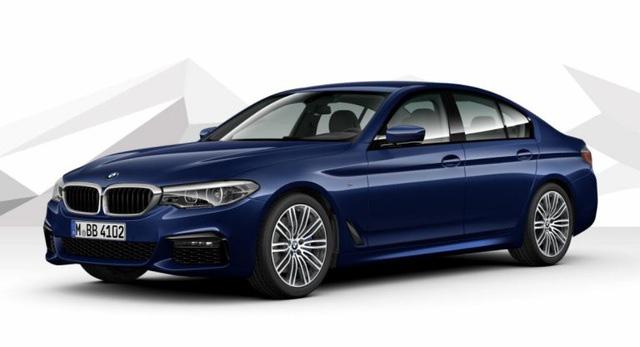 Hé lộ hình ảnh BMW 5-Series phiên bản nâng cấp - Ảnh 2.
