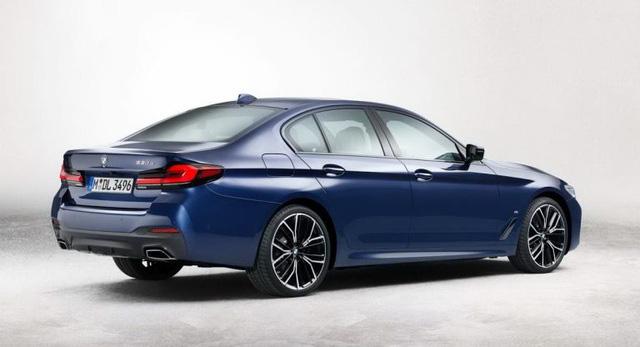 Hé lộ hình ảnh BMW 5-Series phiên bản nâng cấp - Ảnh 3.