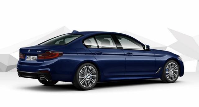 Hé lộ hình ảnh BMW 5-Series phiên bản nâng cấp - Ảnh 4.
