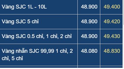 Giá vàng vượt đỉnh 49,4 triệu đồng/lượng: Cẩn trọng lướt sóng vàng! - Ảnh 1.