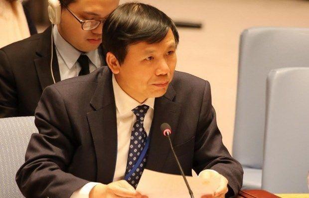 Việt Nam chủ trì họp thành công cuộc họp trực tuyến đầu tiên với Tổng Thư ký Liên Hợp Quốc - Ảnh 1.