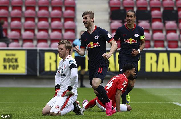 Mainz 05 0 - 5 RB Leipzig: Chiến thắng ấn tượng - Ảnh 1.