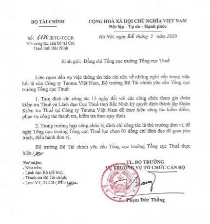 Nghi vấn công ty Nhật hối lộ tại Bắc Ninh: Tạm đình chỉ nhiều lãnh đạo thuế và hải quan - Ảnh 1.