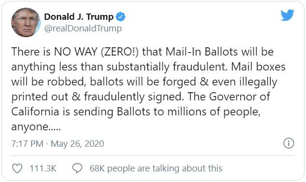Vì sao ông Trump bị Twitter dán nhãn gây hiểu lầm trên tweet? - Ảnh 1.