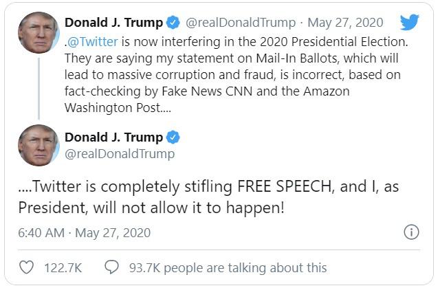 Vì sao ông Trump bị Twitter dán nhãn gây hiểu lầm trên tweet? - Ảnh 2.