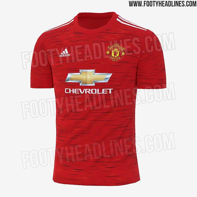 Mẫu áo mới lộ diện của Man United đỡ kinh khủng hơn bản trước đó - Ảnh 1.