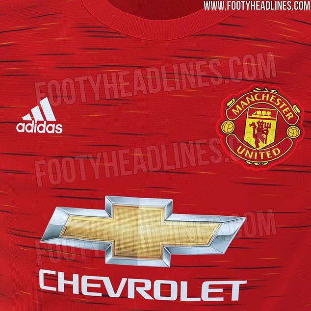 Mẫu áo mới lộ diện của Man United đỡ kinh khủng hơn bản trước đó - Ảnh 2.