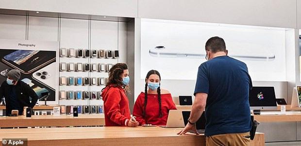 Apple mở lại 100 Apple Store tại Mỹ trong tuần này - ảnh 1