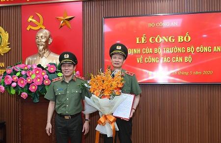 Hai tướng lĩnh Công an nhân dân được giao trọng trách mới - Ảnh 1.