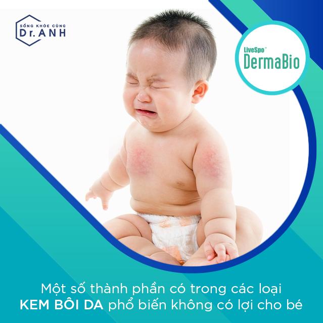 Kinh nghiệm khi lựa chọn sản phẩm chăm sóc da, trị hăm tã cho trẻ - Ảnh 1.
