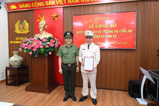 Hai tướng lĩnh Công an nhân dân được giao trọng trách mới - Ảnh 2.