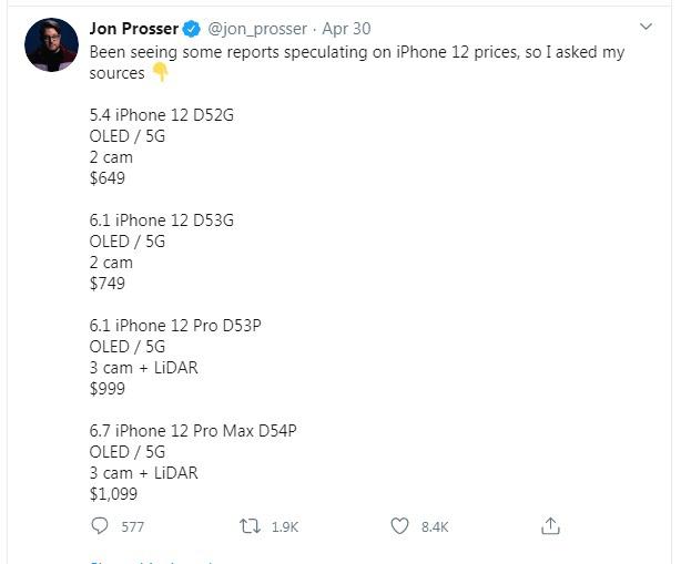 iPhone 12 lộ giá bán: Rẻ đến bất ngờ! - Ảnh 2.