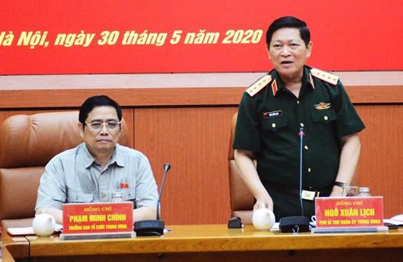 Thường vụ Quân ủy Trung ương thực hiện nghiêm túc, chất lượng Chỉ thị 35 của Bộ Chính trị - Ảnh 1.