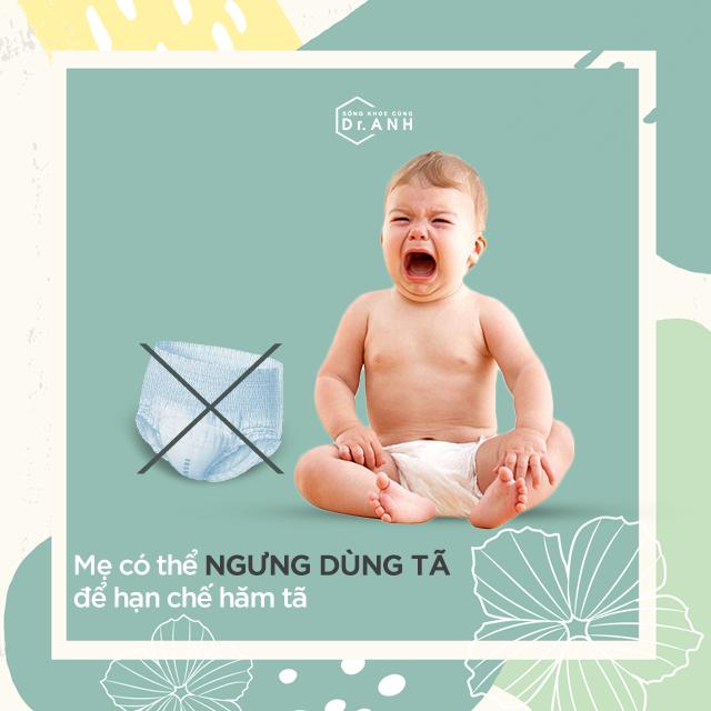 3 điều cần biết để ngăn ngừa và khắc phục hăm tã cho con - Ảnh 4.