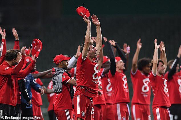 Bayern Munich lần thứ 8 liên tiếp vô địch Bundesliga - Ảnh 4.