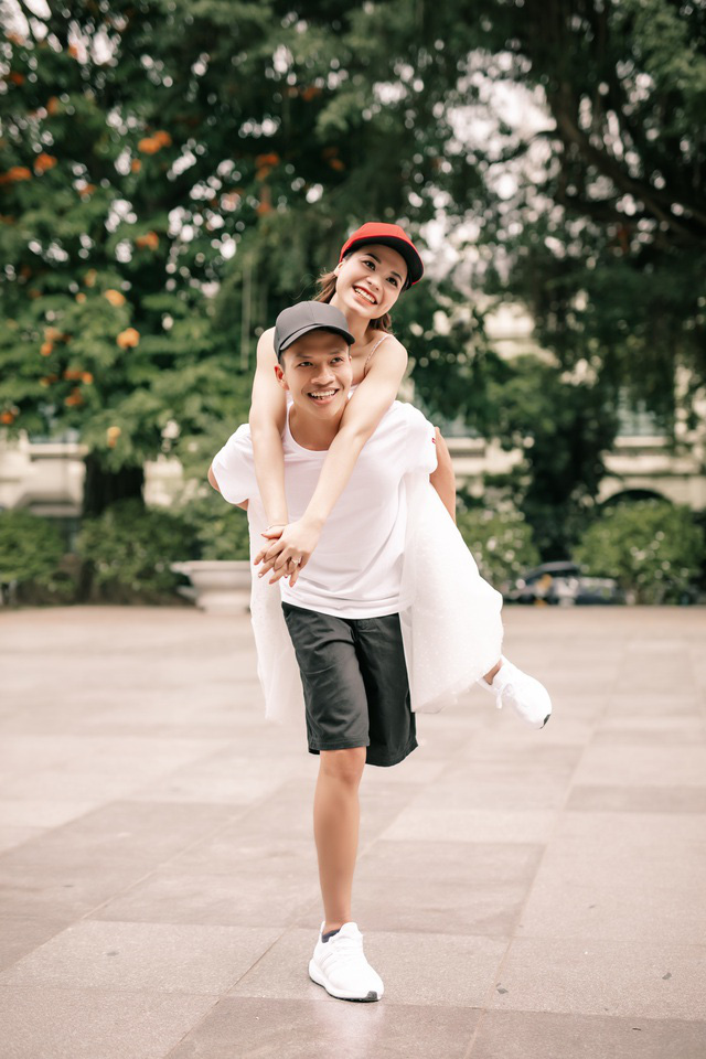 Điều ước thứ 7: Chuyện tình cổ tích của cặp đôi khuyết tật chỉ có một chân - Ảnh 3.
