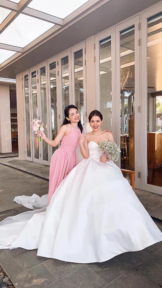 Huyền Lizzie, Vũ Thu Hoài làm phù dâu trong đám cưới Phanh Lee - Ảnh 5.