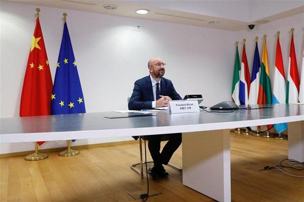 Trung Quốc - EU cam kết hoàn tất thỏa thuận đầu tư song phương - Ảnh 1.