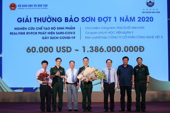 Bộ test COVID-19 giành giải thưởng 60.000 USD - Ảnh 1.