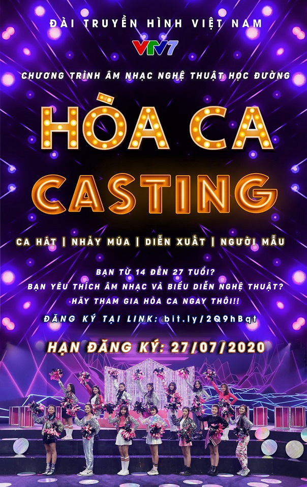 Hòa ca 2021 chính thức mở cổng casting - Ảnh 1.