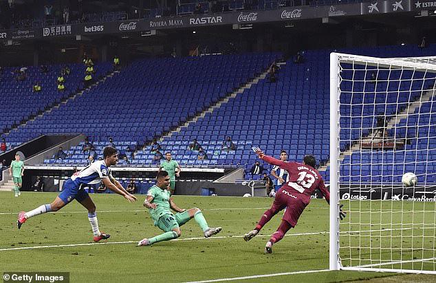 Espanyol 0-1 Real Madrid: Đòi lại ngôi đầu - Ảnh 1.