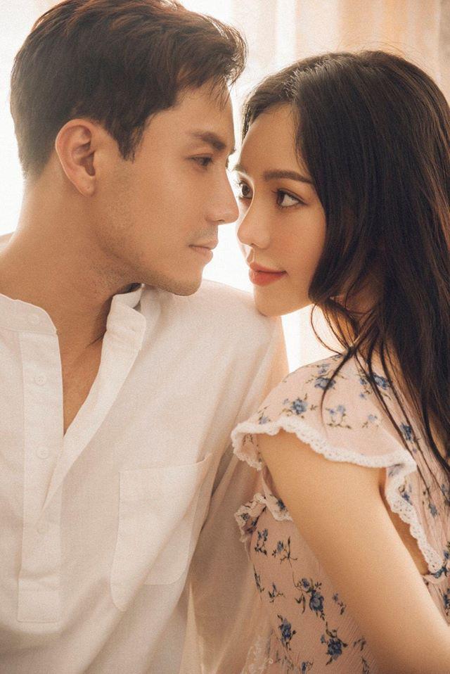 Rung rinh với loạt ảnh tình cảm của Thanh Sơn và Quỳnh Kool - Ảnh 3.