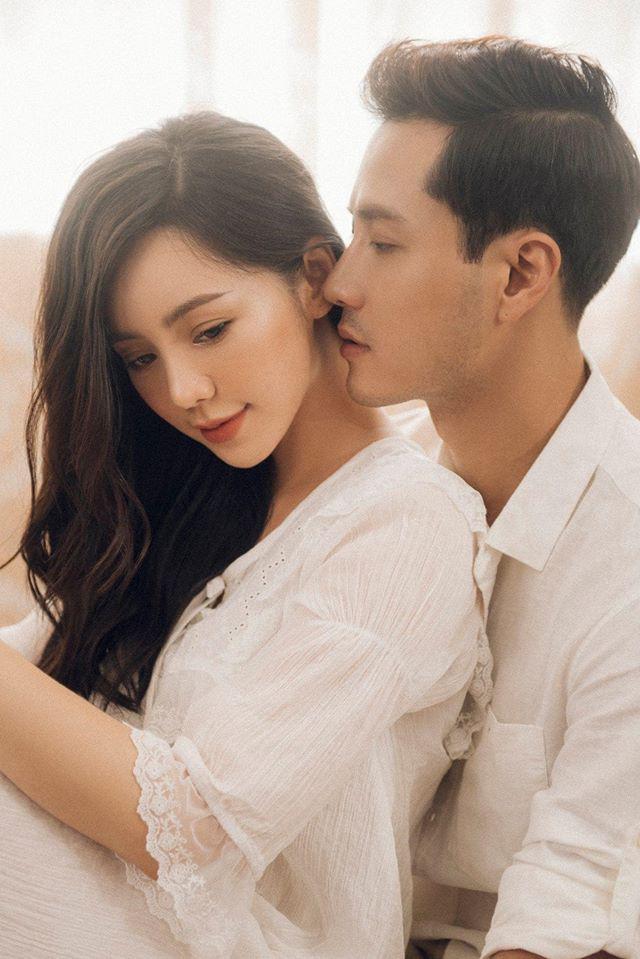 Rung rinh với loạt ảnh tình cảm của Thanh Sơn và Quỳnh Kool - Ảnh 2.