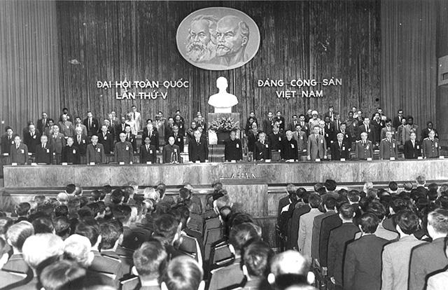 Đại hội đại biểu toàn quốc lần thứ V: Tất cả vì Tổ quốc XHCN, vì hạnh phúc của nhân dân - Ảnh 1.