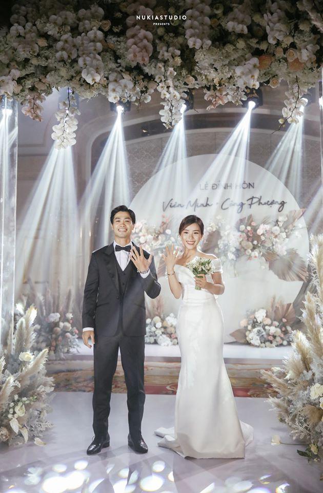 ẢNH: Công Phượng bảnh bao trong lễ đính hôn - Ảnh 3.
