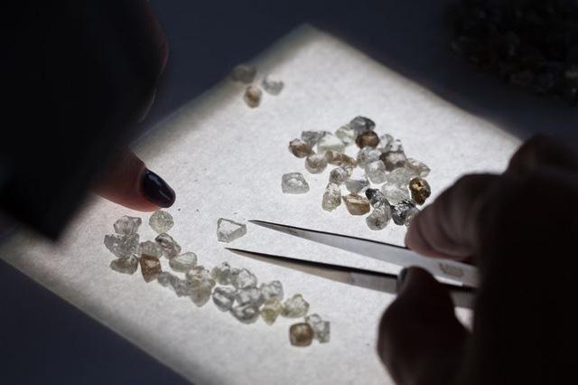 """Kim cương """"ế ẩm"""", chất đống vì COVID-19 - Ảnh 1."""