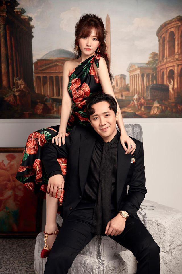 Trấn Thành ôm ấp Hari won trong bộ ảnh mới - ảnh 4