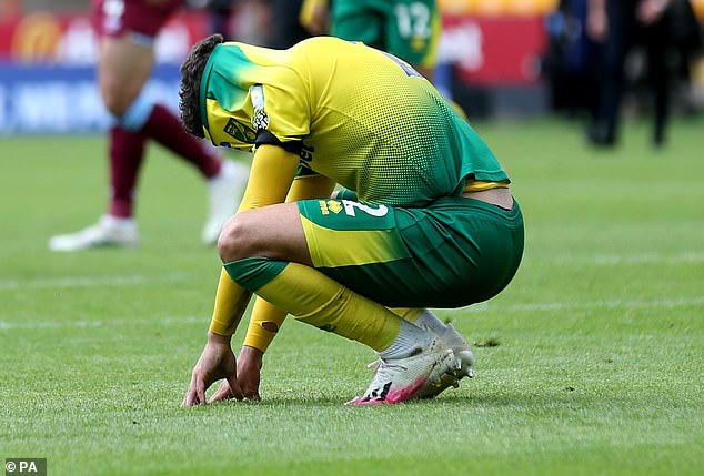 Norwich là đội đầu tiên xuống hạng tại Ngoại hạng Anh - Ảnh 2.