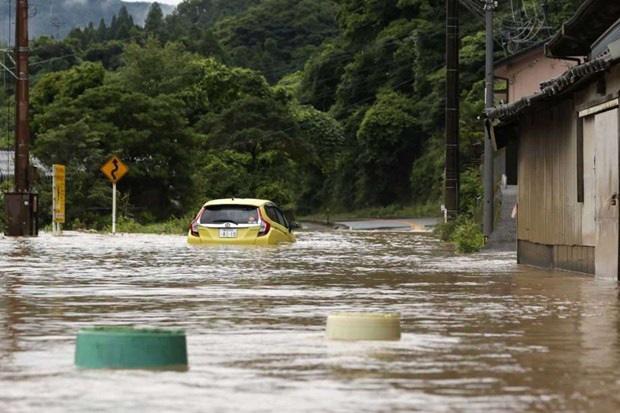 Nhật Bản: Mưa lũ cướp sinh mạng 63 người, ít nhất 16 người mất tích - Ảnh 1.