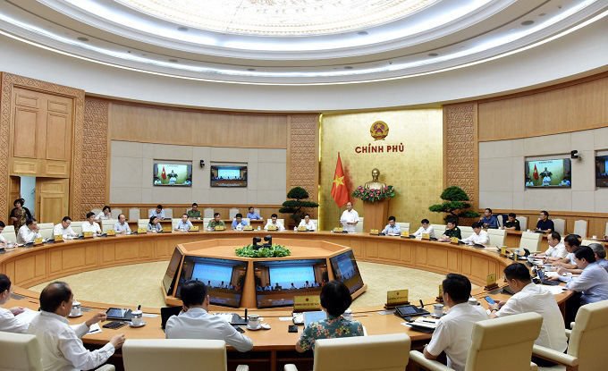 General view of the meeting. (Photo: NDO/Tran Hai)