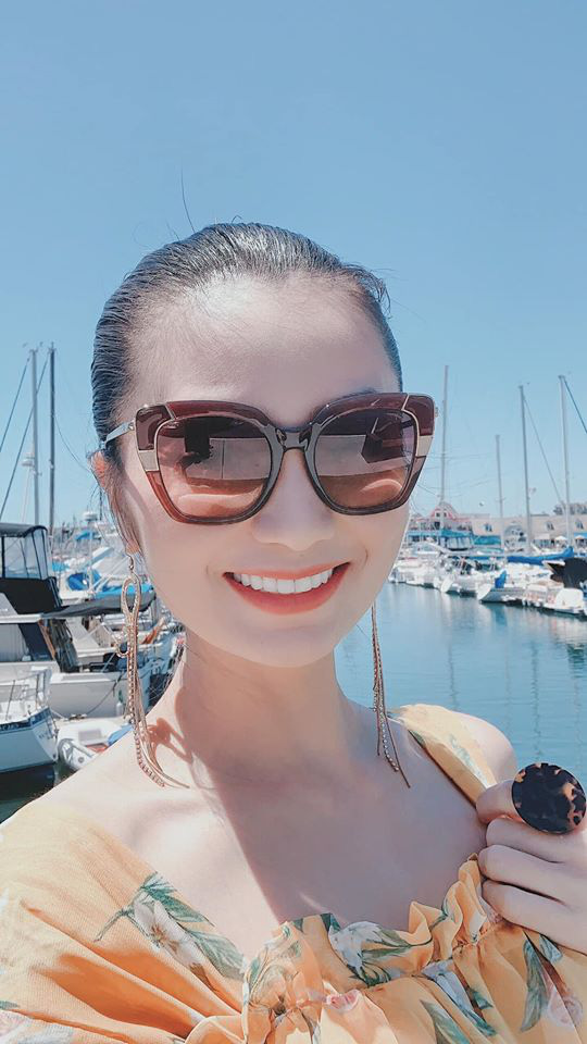 Cuộc sống bên Mỹ của nữ diễn viên đóng vai San trong Hoa hồng trên ngực trái - Ảnh 3.