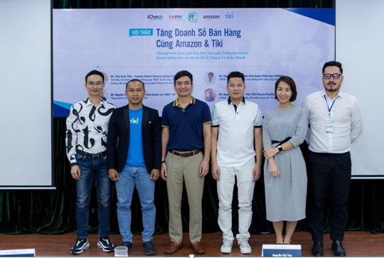 ICheck tham dự sự kiện Tăng doanh số bán hàng cùng Amazon và Tiki - Ảnh 1.