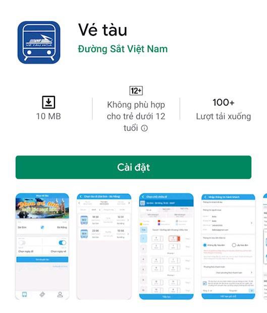 Đã có thể mua vé tàu trực tuyến qua ứng dụng trên điện thoại - Ảnh 1.