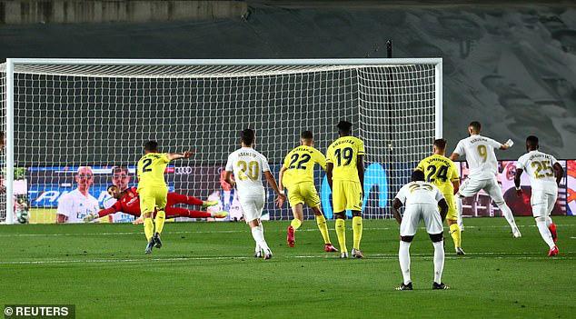 Real Madrid 2-1 Villarreal: Chức vô địch thứ 34! (Vòng 37 La Liga) - Ảnh 3.