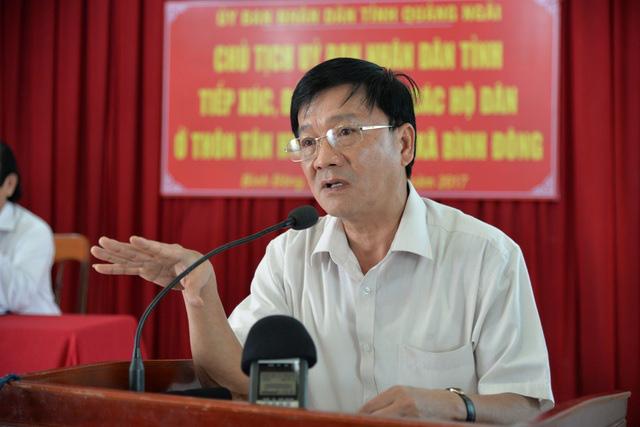 Chủ tịch tỉnh Quảng Ngãi Trần Ngọc Căng nghỉ hưu từ ngày 1/7 - ảnh 1