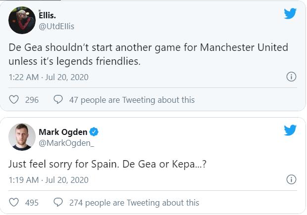 De Gea nhận chỉ trích nặng nề sau sai lầm trong trận thua của Manchester United - Ảnh 2.