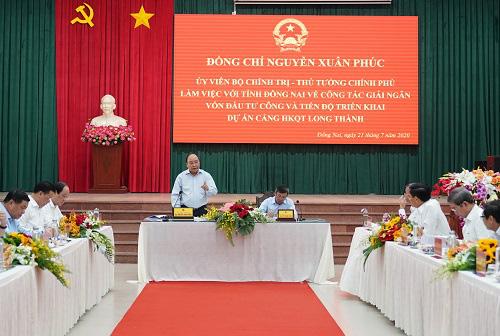 Thủ tướng chốt tiến độ bàn giao mặt bằng cho sân bay Long Thành - Ảnh 1.