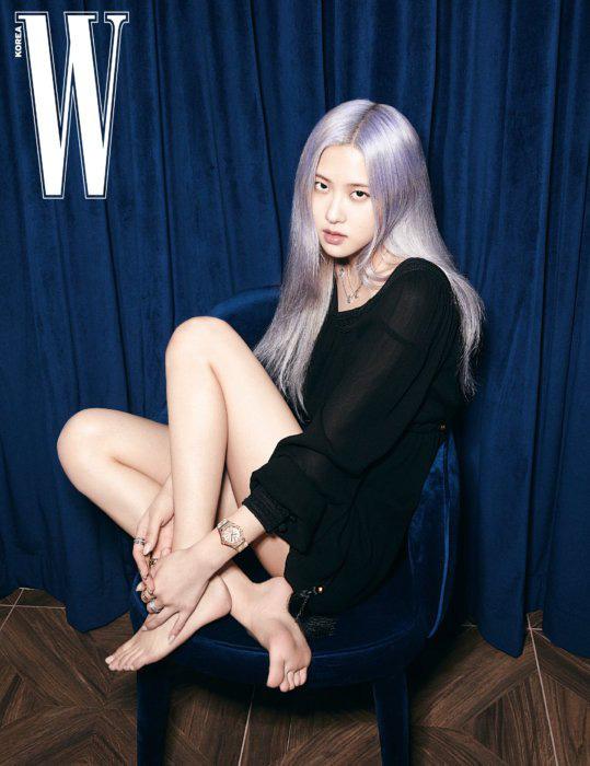 Rosé (BLACKPINK) khoe vẻ đẹp trong trẻo trên tạp chí W - Ảnh 10.