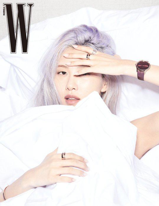 Rosé (BLACKPINK) khoe vẻ đẹp trong trẻo trên tạp chí W - Ảnh 3.