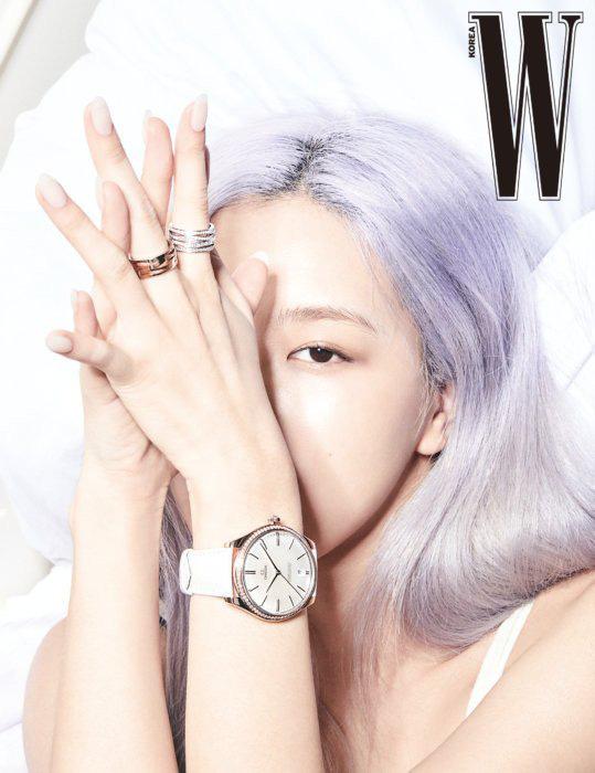 Rosé (BLACKPINK) khoe vẻ đẹp trong trẻo trên tạp chí W - Ảnh 7.