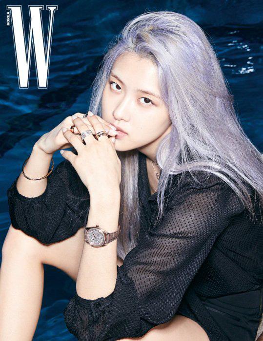 Rosé (BLACKPINK) khoe vẻ đẹp trong trẻo trên tạp chí W - Ảnh 8.